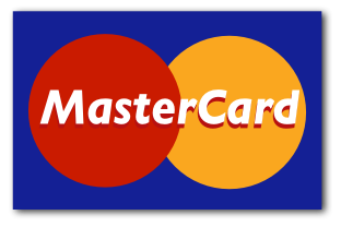 We accept Mastercards